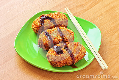 Korokke, japanese potato croquettes
