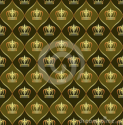 Korony tło korony