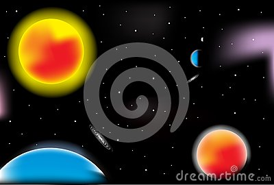Kosmosu wektor