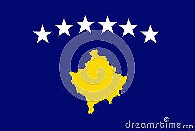 Kosovo flag Official