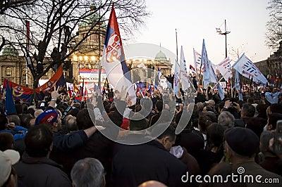 Kosovo is Serbia Editorial Stock Image