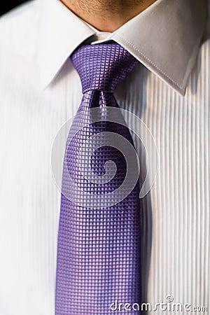 Koszulowy krawat