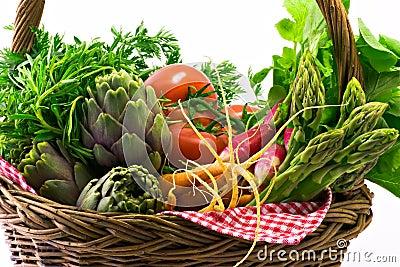 Koszykowy warzywo