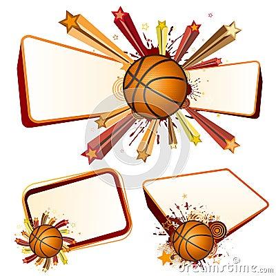 Koszykówki projekta element