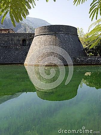 Kotor bastion Stock Photo