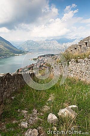 Kotor bay of Montenegro