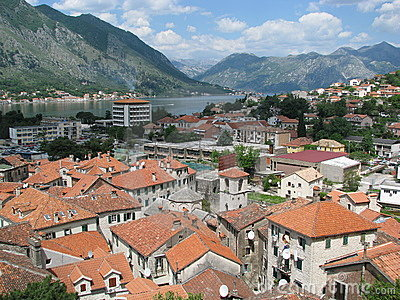 Kotor (Montenegro) - view from the citadel