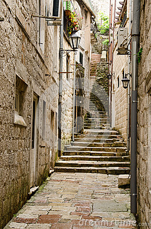 Kotor. Stairs