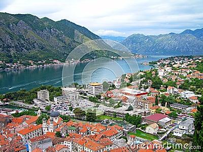 Kotor town and Kotor bay, Montenegro