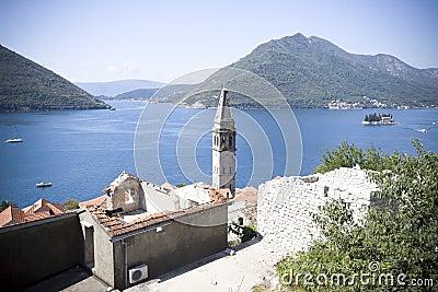 Kotorska Bay in Montenegro