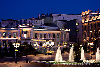Kotzia Square and Athens Cityhall