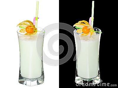 Koude cocktail