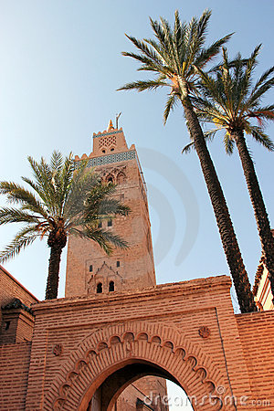 Koutoubia mosque in Marrakesh