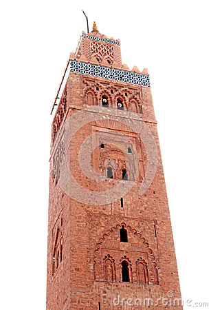 Koutoubia mosque in Marrakesh, Morocco