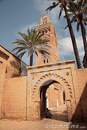 Koutubia mosque minaret