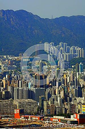 Kowloon island, hong kong