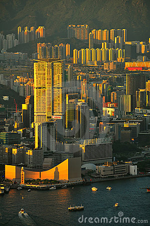 Kowloon island, hong kong Editorial Photography