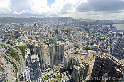 Kowloon View from International Commerce Center