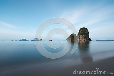 Krabi beach in Thailand