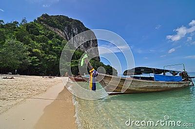 Krabi tropical beach
