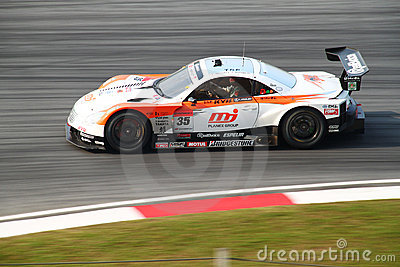 Kraft Lexus 35, SuperGT 2010 Editorial Photography