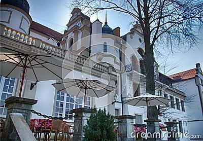 Krag castle in Poland