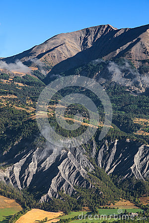 Krajobraz w Alps