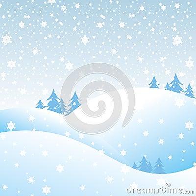 Krajobrazowa zima