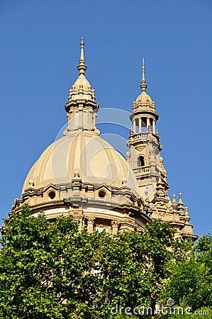 Krajowy pałac w Barcelona