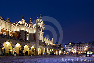 Krakow - Cloth Hall - Main Square - Poland