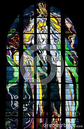 Krakow - Franciscan Church - Poland Editorial Stock Image
