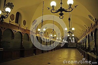 Krakow market hall