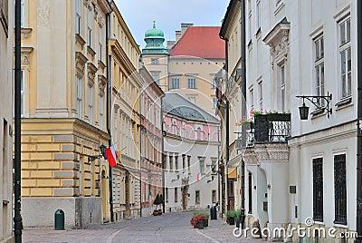 Krakow.  Old town