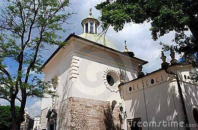 Krakow, Poland: Church of St. Wojciech