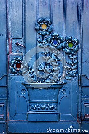 Free Krakow - Poland - Old Theater Door Royalty Free Stock Image - 23351846