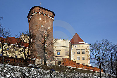 Krakow - Royal Castle - Wawel Hill - Poland