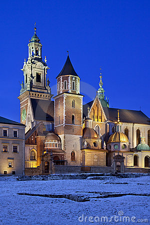 Krakow - Royal Cathedral - Wawel Hill - Poland