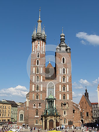 Krakow, basilica of Saint Mary