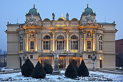 Krakow - Slowacki Theater - Poland