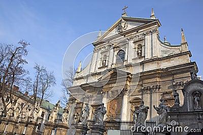 Krakow - St Peter and Paul Church - Poland