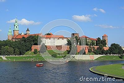 Krakow - Wawel castle