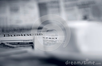 Kranten en koffie