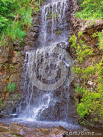 Krape Park Waterfall Illinois