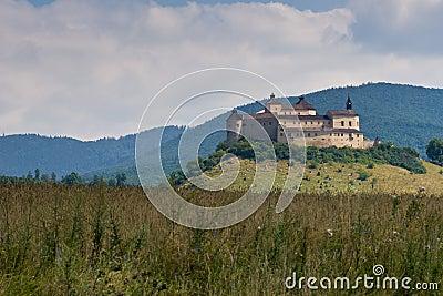 The Krasna Horka Castle.