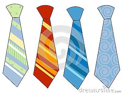 Krawaty szyi