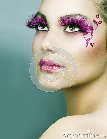 Kreatywnie makeup