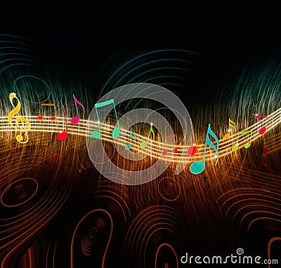 Kreatywnie muzyczne notatki