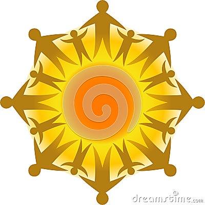 Kreis des Lebens Sun/ENV