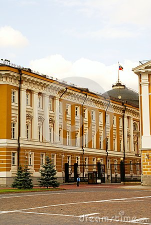 The Kremlin as the center of Moscow