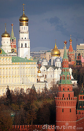 Kremlin and belfry of Ivan the Great
